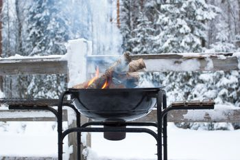 Winterbarbecueën